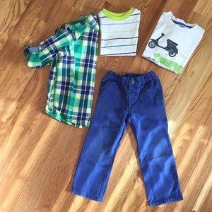 Gymboree outfit bundle